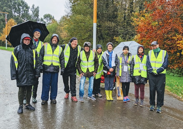 Orangefield volunteers 03