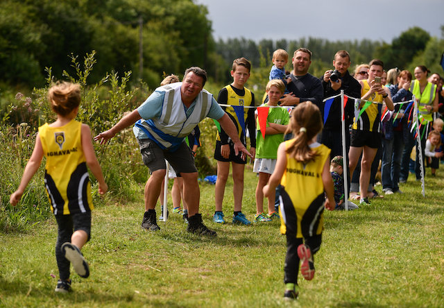 Vicarstown Junior parkrun in Partnership with Vhi
