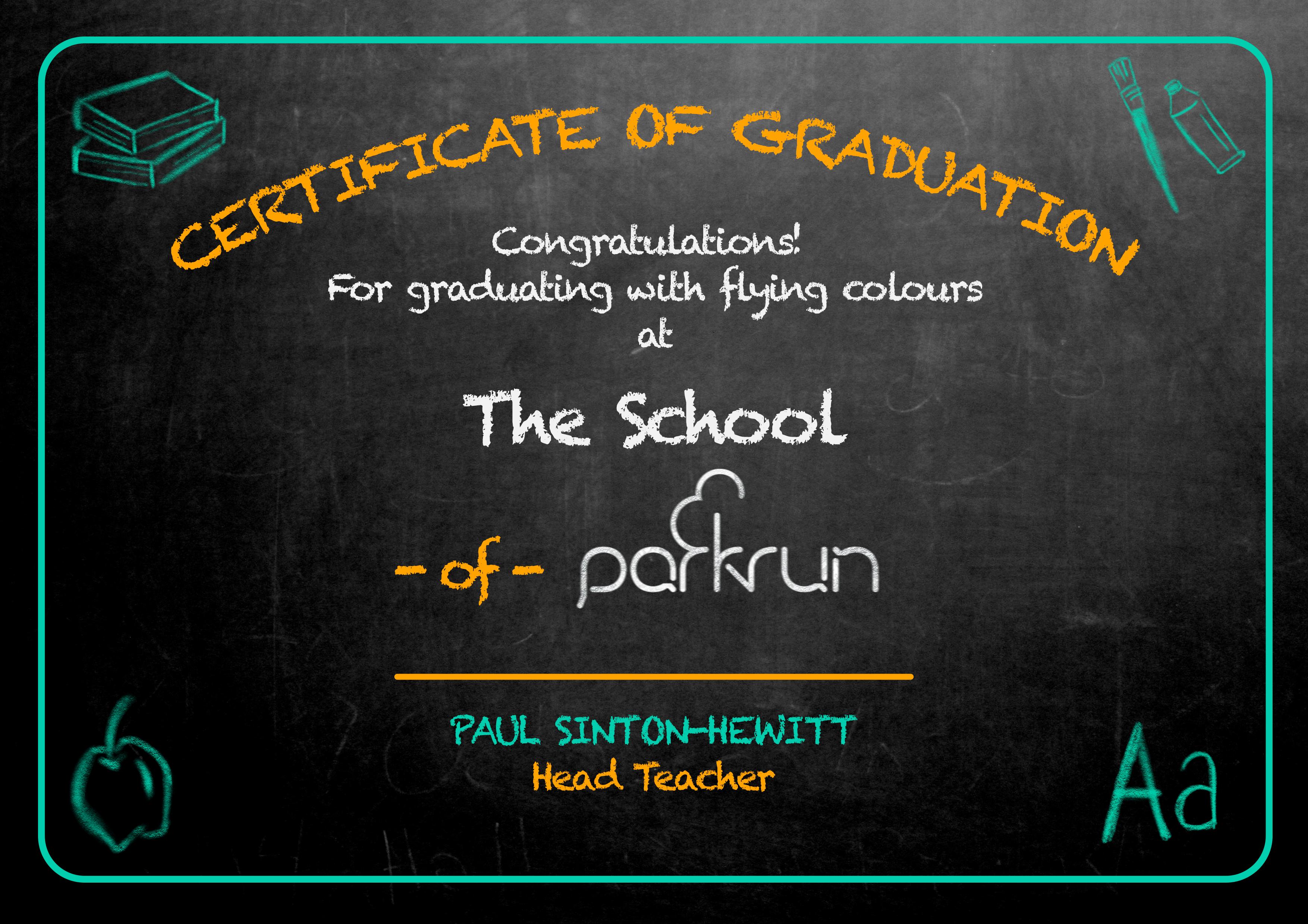 certificate black 2