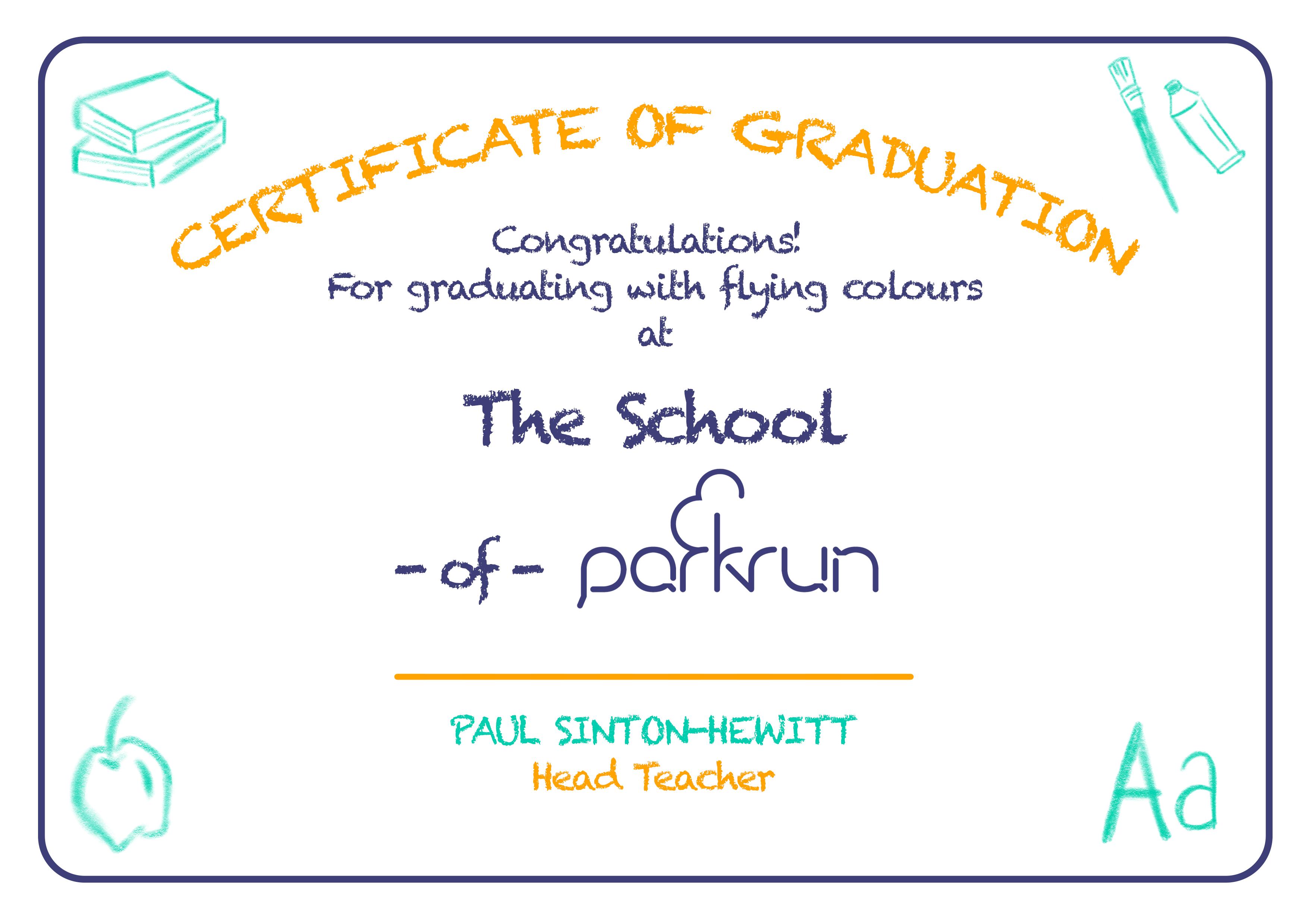 certificate printable