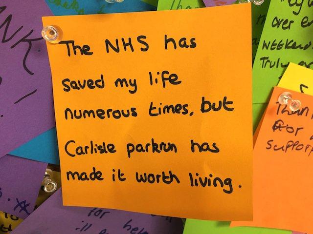 NHS note
