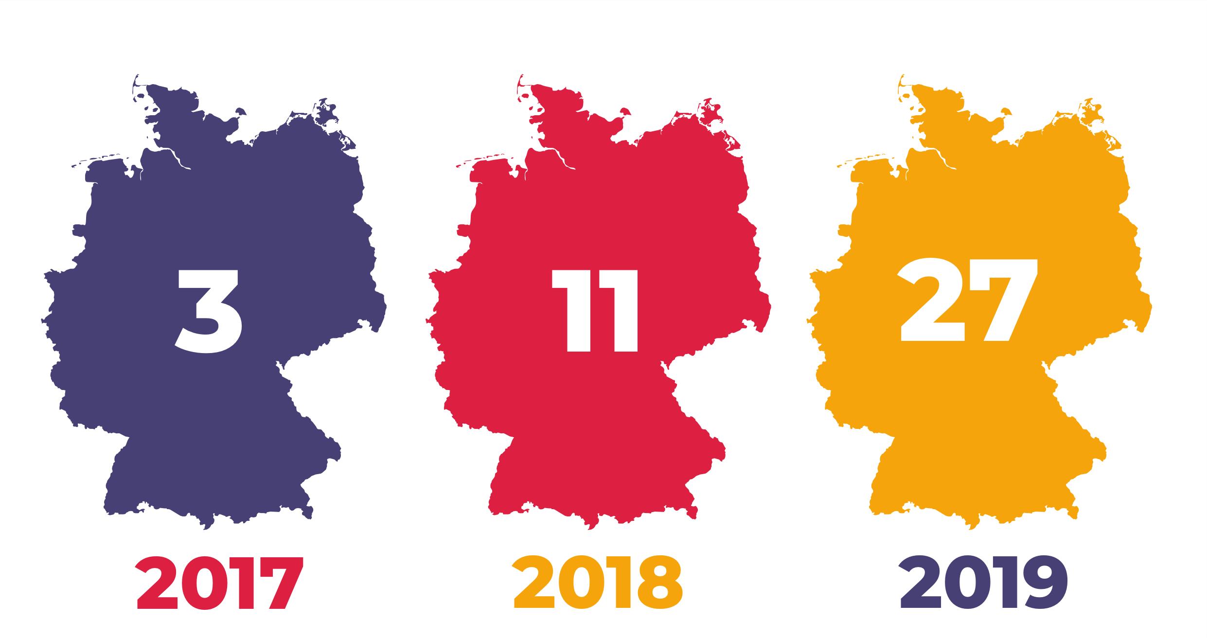 2017-2019 DE Map
