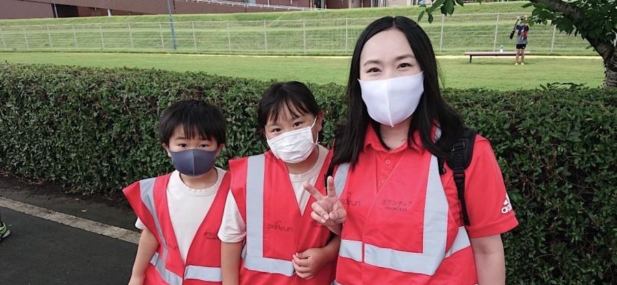 Yuuka family volunteers