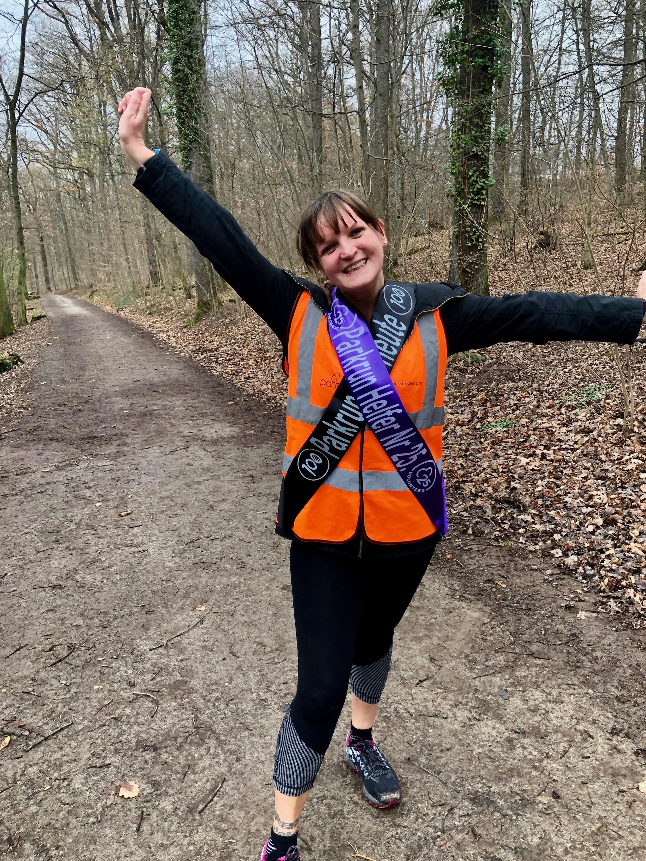 010 2019 March Germany Kraherwald parkrun 100th run and 25th volunteer
