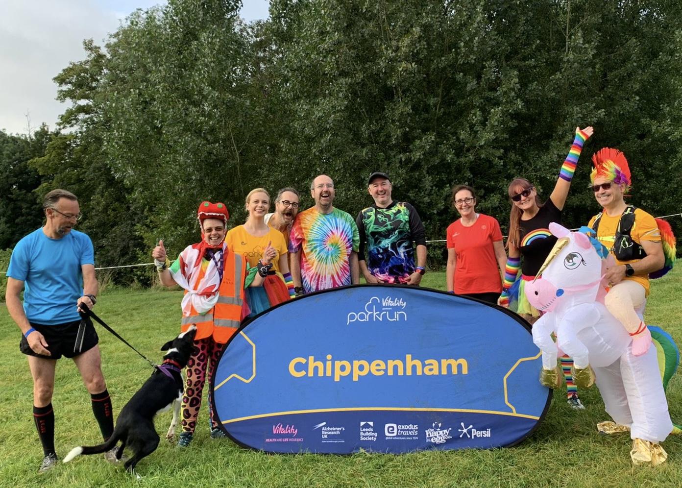 012 2021 September UK Chippenham parkun meeting parkrun online quizzers