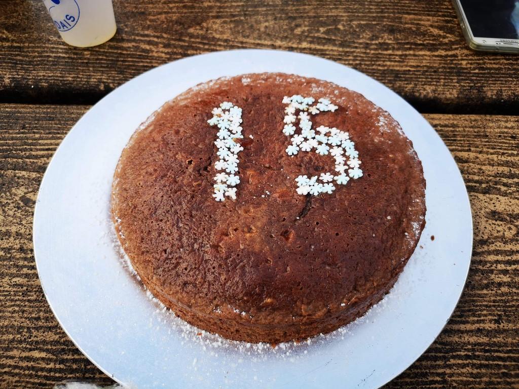 Les Dounges cake