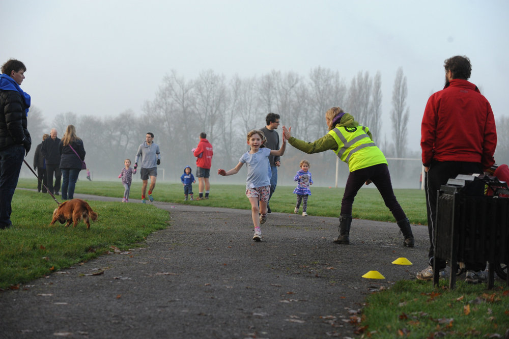 junior-parkrun-high-five
