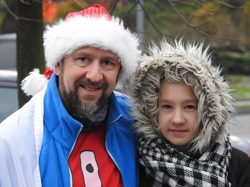 Ja i córka Zuzia