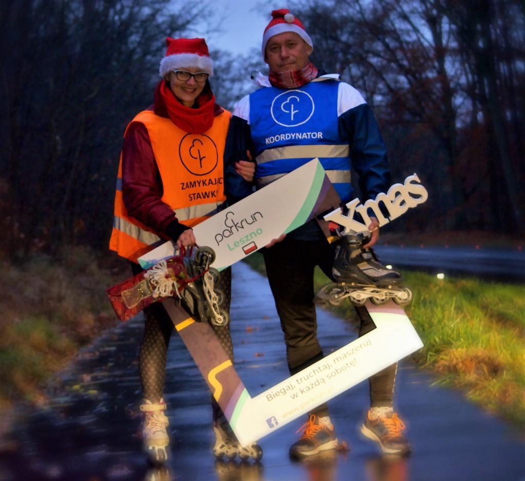 parkrunowy kalendarz adwentowy - 23 grudnia - parkrun Leszno