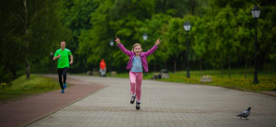 Детский забег в Коломенском