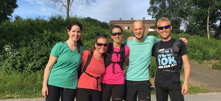 parkrun Norway team