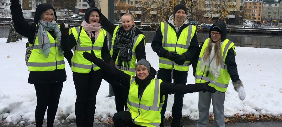 Tampere volunteers