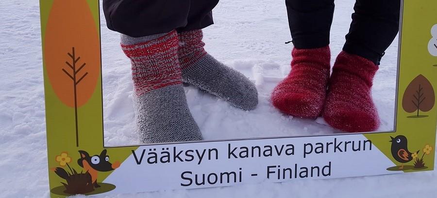 Socks in Vääksy kanava cover