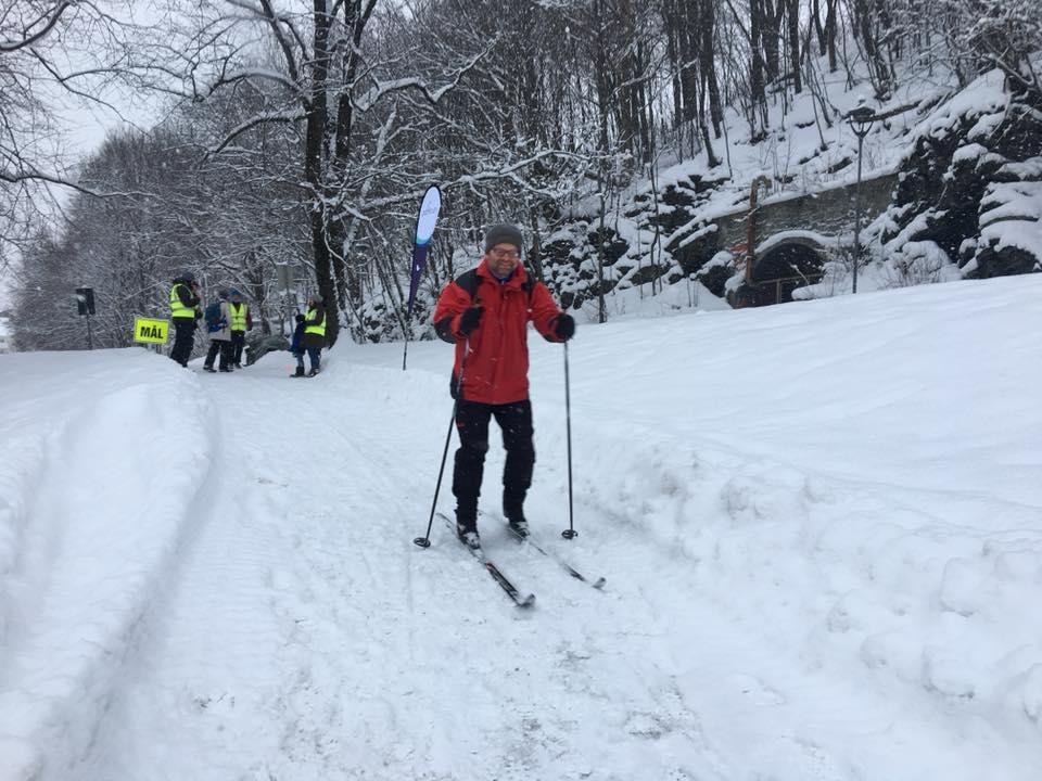 Toyen skier