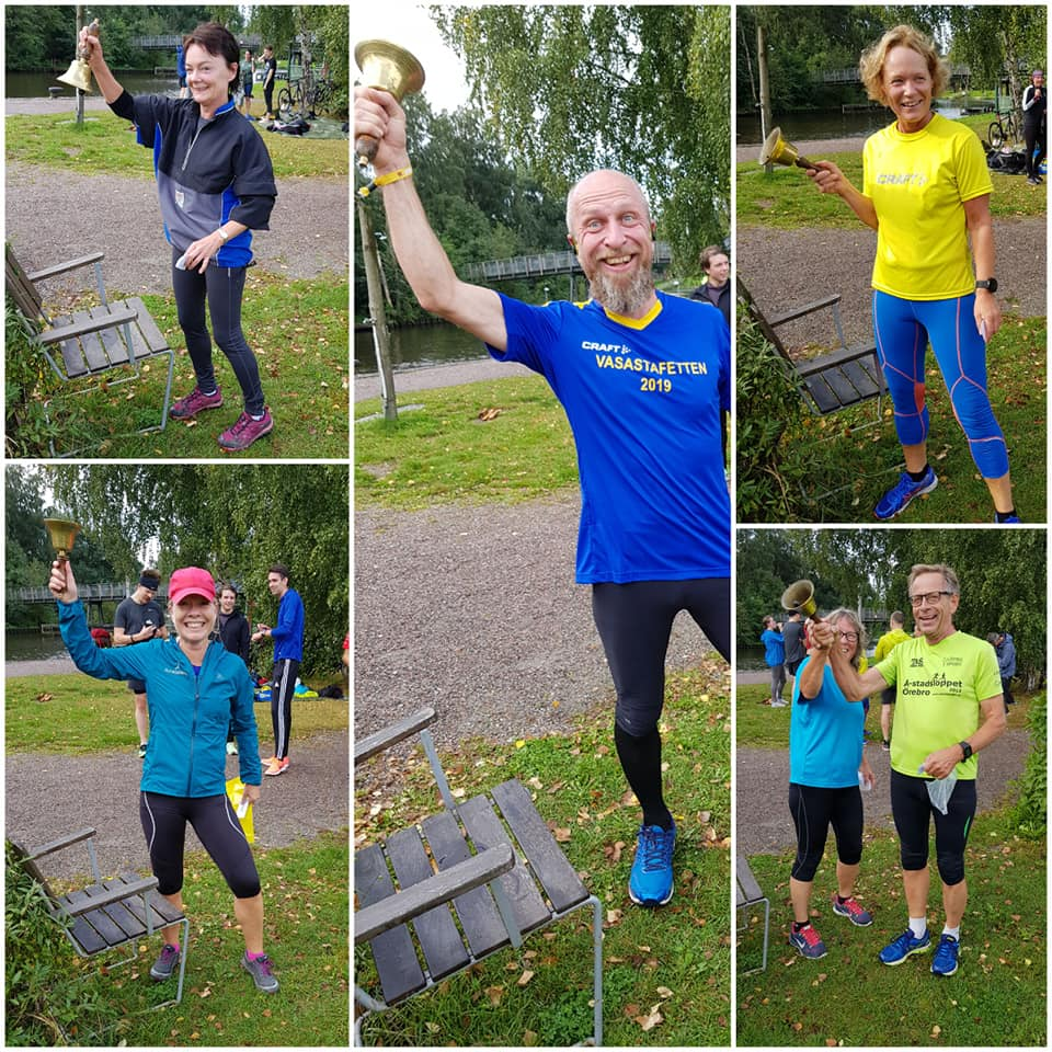 First timers and PB Örebro