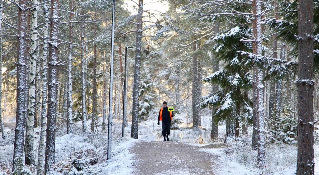 Huddinge winter