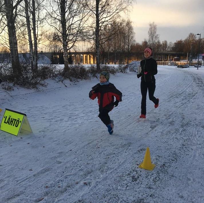 Tampere finish line