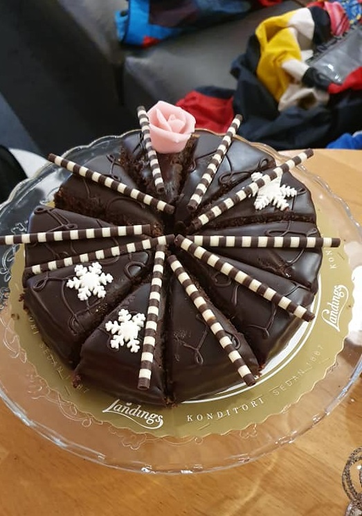 Uppsala cake
