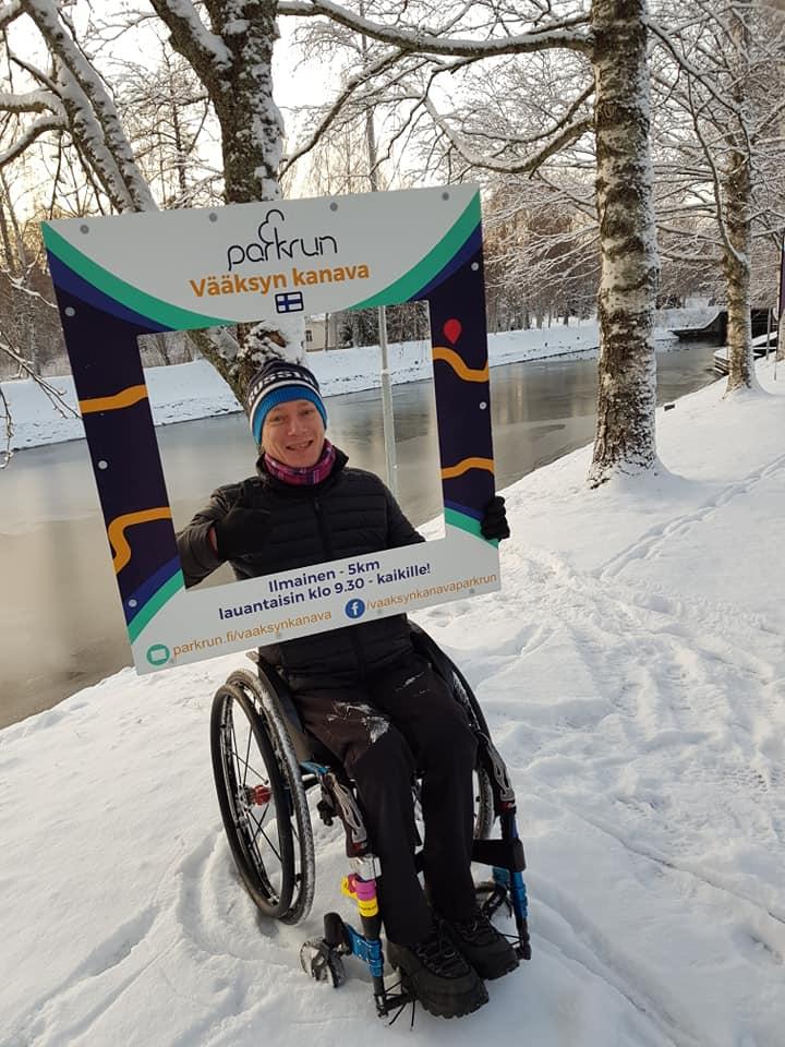 Vääksy kanava wheelchair 2