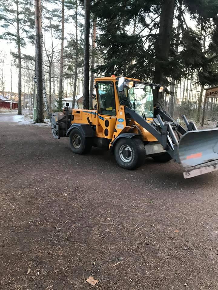 Vallaskogen tractor
