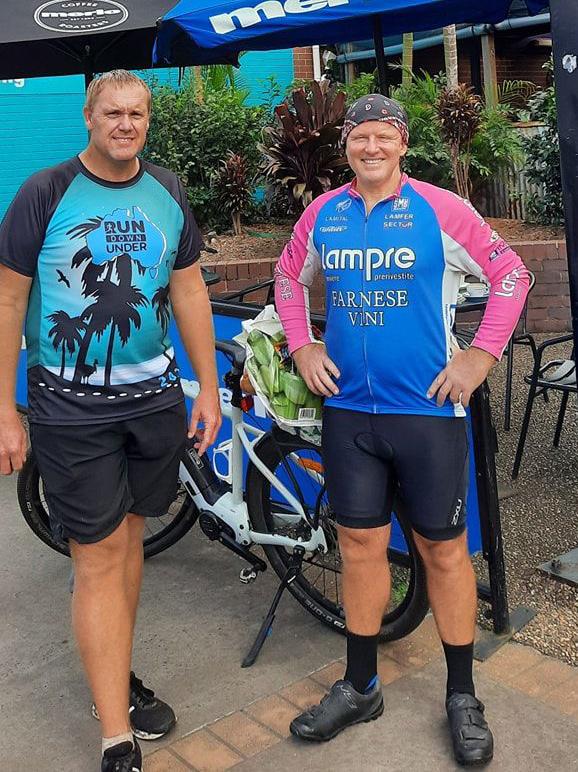 Tony Jennings bike