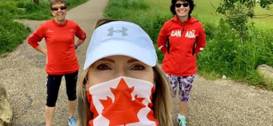 parkrun Canada Day