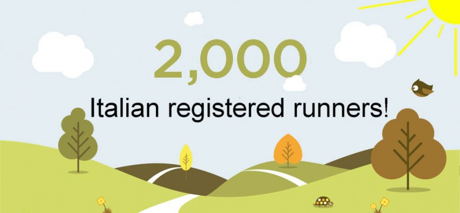 2000 italian registered runners