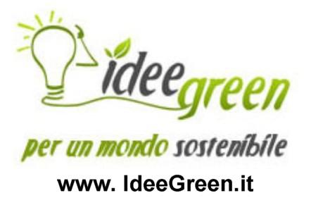 logo IdeeGreen con sito