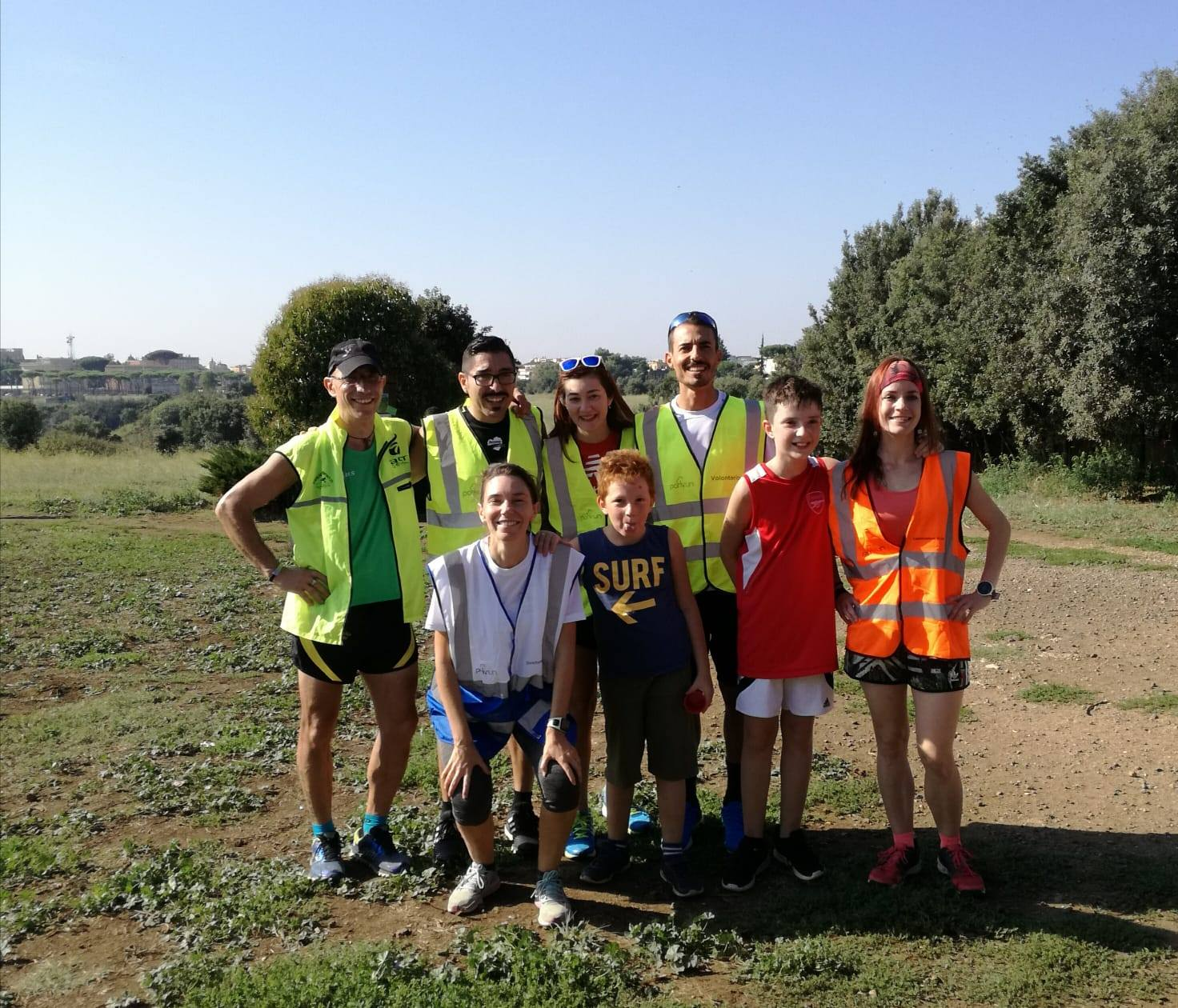 volontari roma pineto