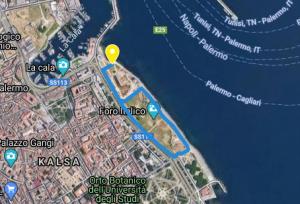 Percorso Foro Italico parkrun - 3 giri