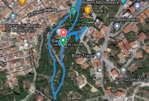 Percorso Montelepre parkrun - 6 giri
