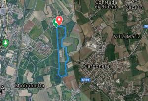 Percorso Treviso parkrun - 2 giri