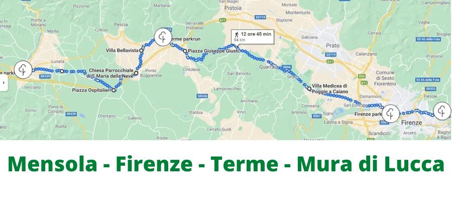Mensola - Firenze - Terme - Mura di Lucca
