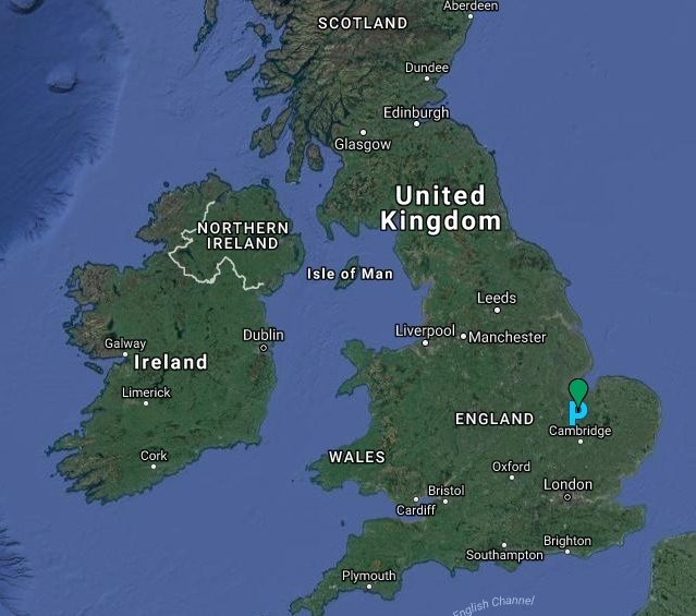 March parkrun map