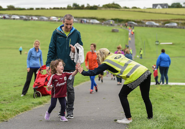 Oranmore Junior Parkrun in partnership with Vhi