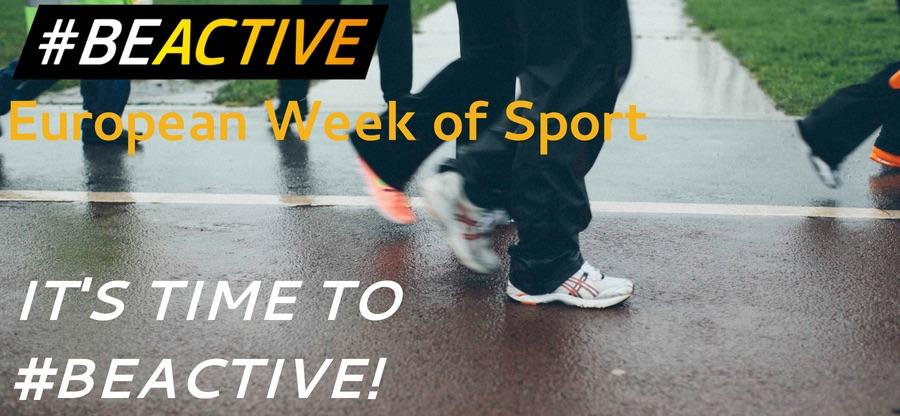 European Week of Sport graphic