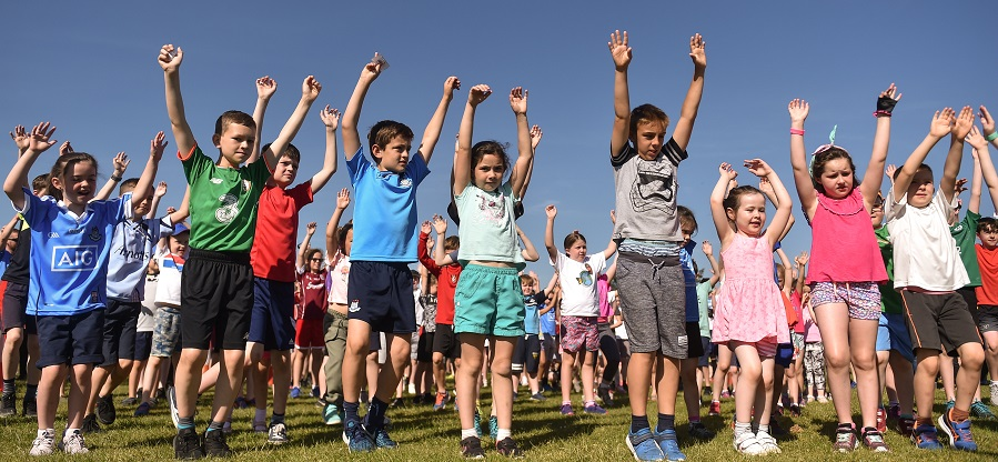Griffeen junior parkrun in partnership with Vhi