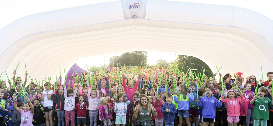 Vhi Junior parkrun Vhi Roadshow in St Anne's Park
