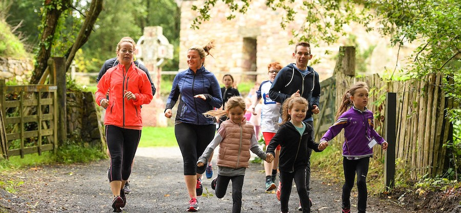Heritage junior parkrun in partnership with Vhi