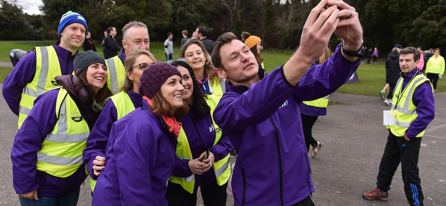 Vhi staff takeover at St Anneís parkrun