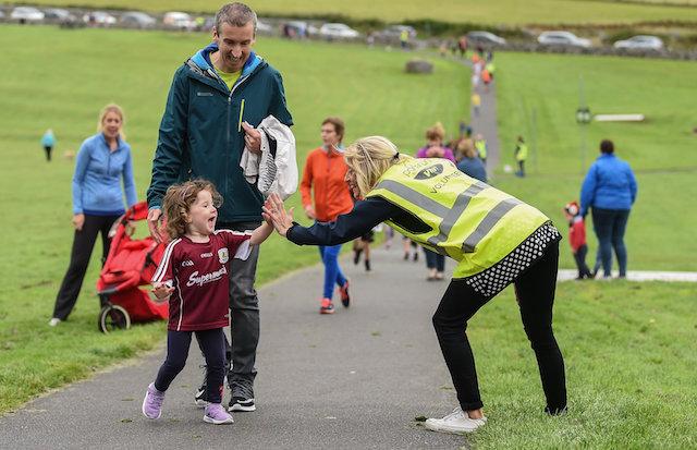 Oranmore Junior Parkrun in partnership with Vhi