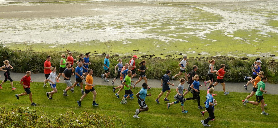 Poolbeg parkrun in partnership with Vhi