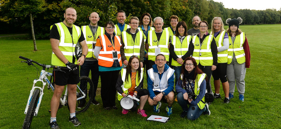 Corkagh parkrun in partnership with Vhi