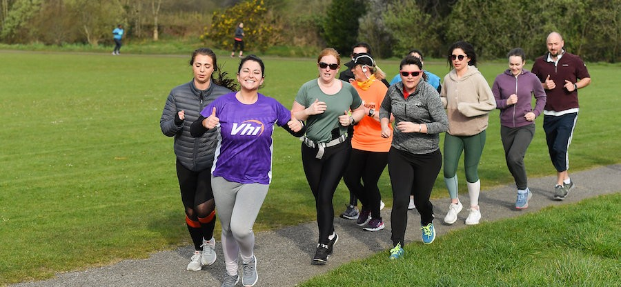 Knocknacarra Park parkrun in partnership with Vhi