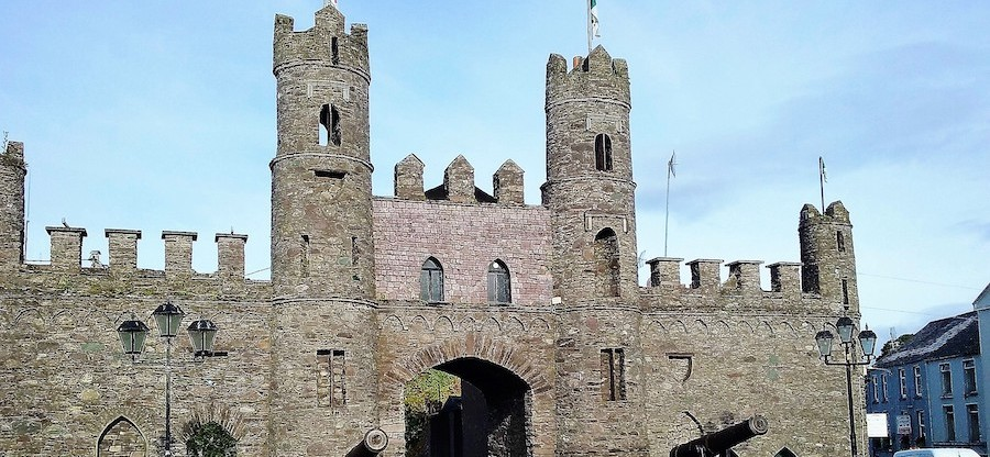 Macroom Castle Gates