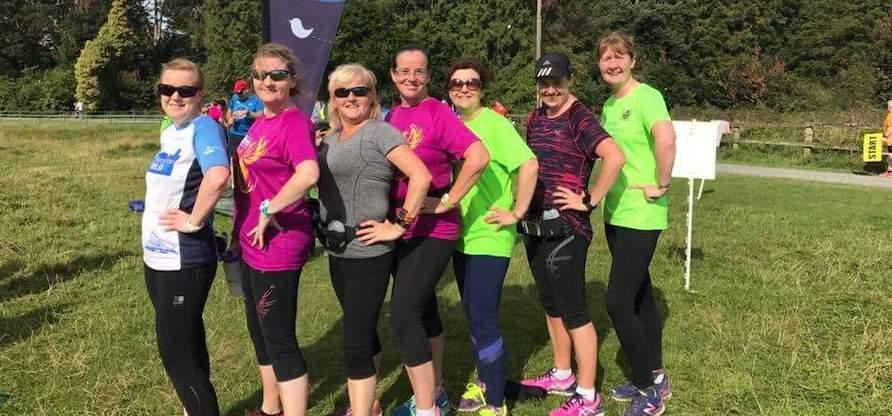 Fanchea Mid-Dublin Marathon training which took in Castletown parkrun!