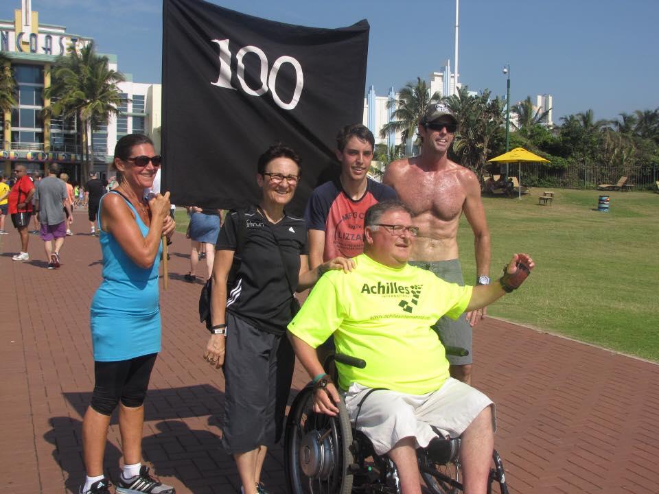 Ari Seirlis 100th parkrun