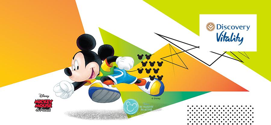 Vitality Kids Disney parkrun snippet