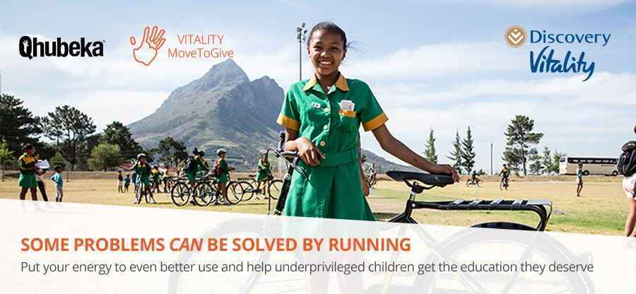 57093DHV Vitality MoveToGive bicycles to improve mobility - parkrun newsletter_V1_900x416