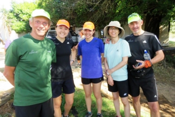 Rob Millerd and family are all avid parkrunners